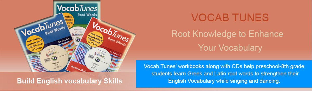 Vocab Tunes Root Word 3-5 Grade: Vocabulary Building Strategies