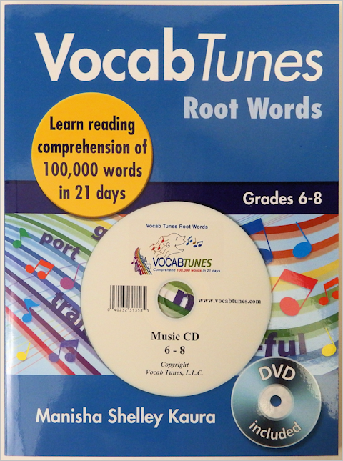 paperback workbook for school children in grades 6th to 8th