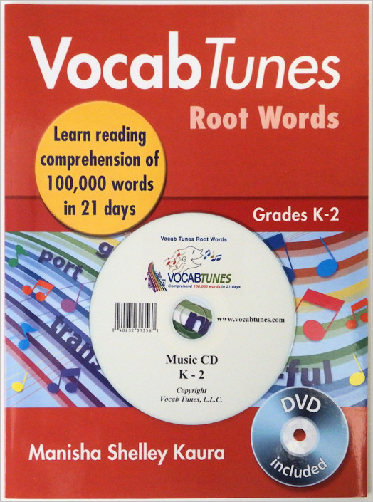 vocabulary and reading workbook for K (preschool) to 2nd grade children.