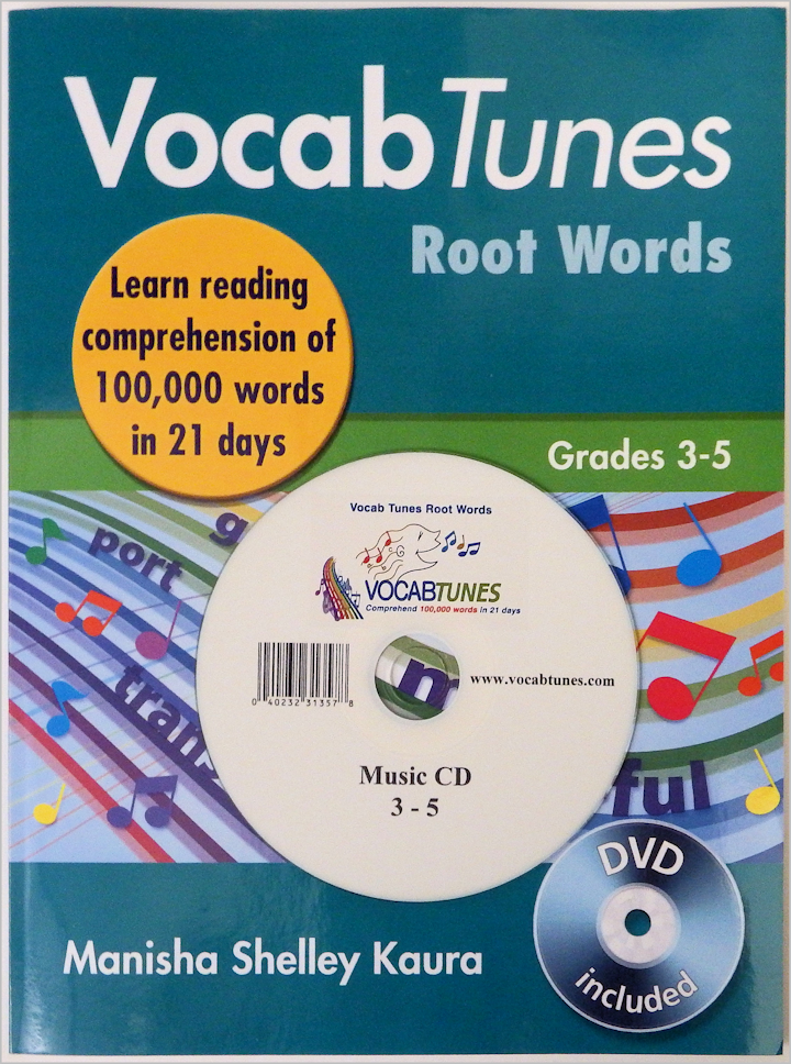 VocabTunes Root Words 3-5